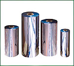 metallized plastic film
