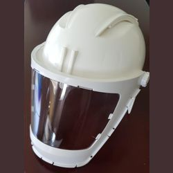 Visor Safety Shield with Helmet