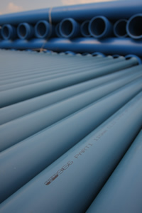 Environmentally conscious contracters use PVC Pipes and Fittings