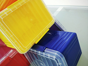 2 Litre Plastic Containers with Lids