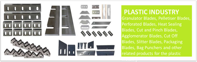 Granulator Blades for Packaging Industry