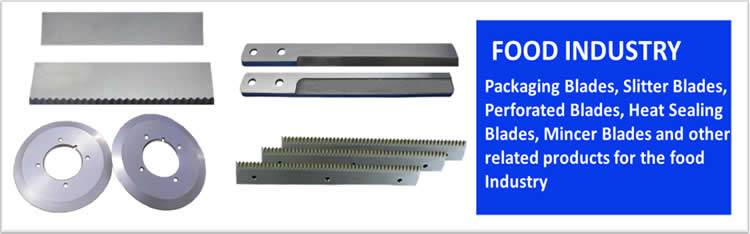 Packaging Blades and Heat Sealing Blades for Food Industry