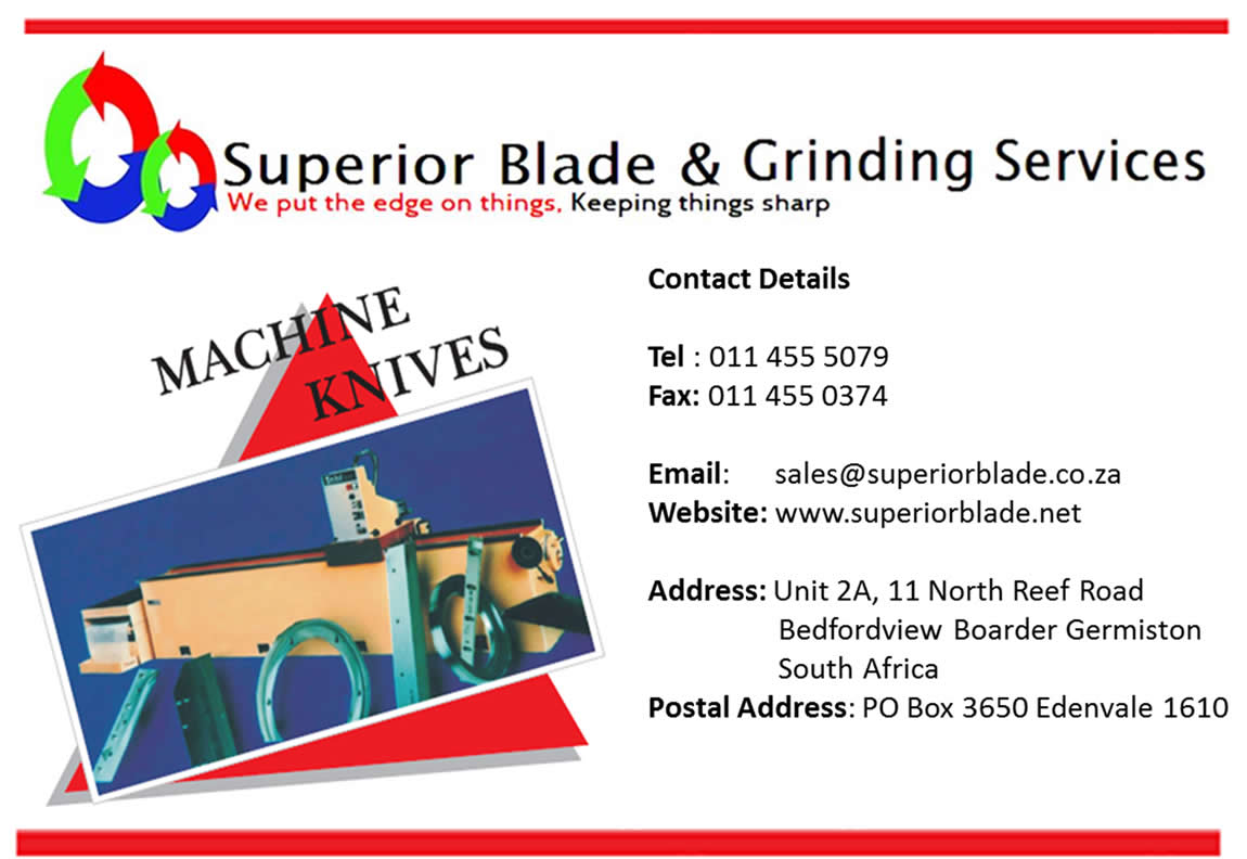Superior Blade and Grinding Services Information