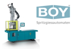Increased clamping force for the largest BOY-Insert moulding machine