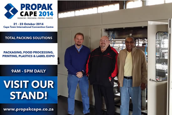 Visit Trioplastics at Propak Cape 2014