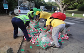 Two Oceans Marathon - Recycling plastics