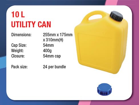 10 Litre Utility Can