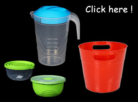 New Products - Plastic Containers