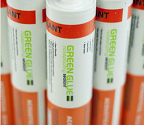 Greenglue noise sealant for buildings