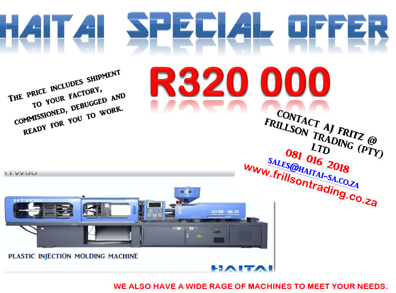 Haitai Injection Moulding Machines Introductory Offer