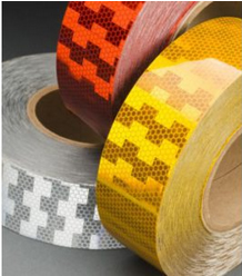 Injection Moulding of Reflective Tape for automotive