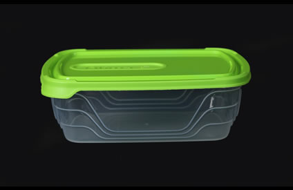 1Litre Plastic Containers with Lids