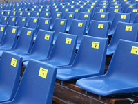 Plastic Stadium Seating