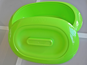 plastic oval bowl