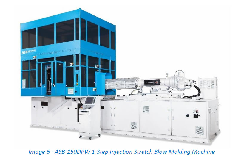 ASB-150DPW 1-Step Injection Stretch Blow Molding Machine