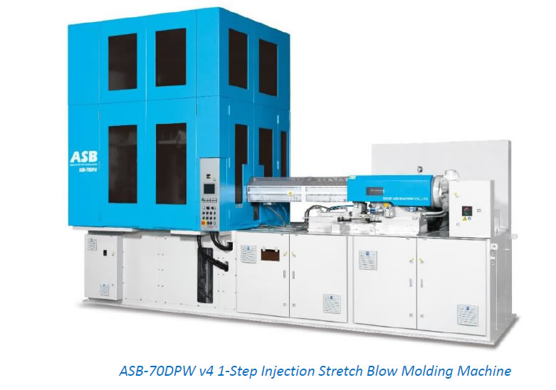 ASB-70DPW v4 1-Step Injection Stretch Blow Molding Machine
