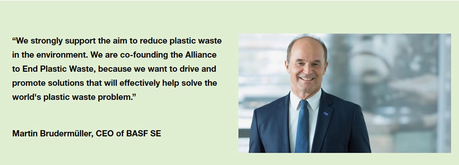Aliiance to End Plastic Waste