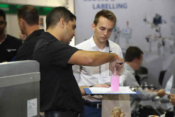 visitor and exhibitor engagement at Propak Africa