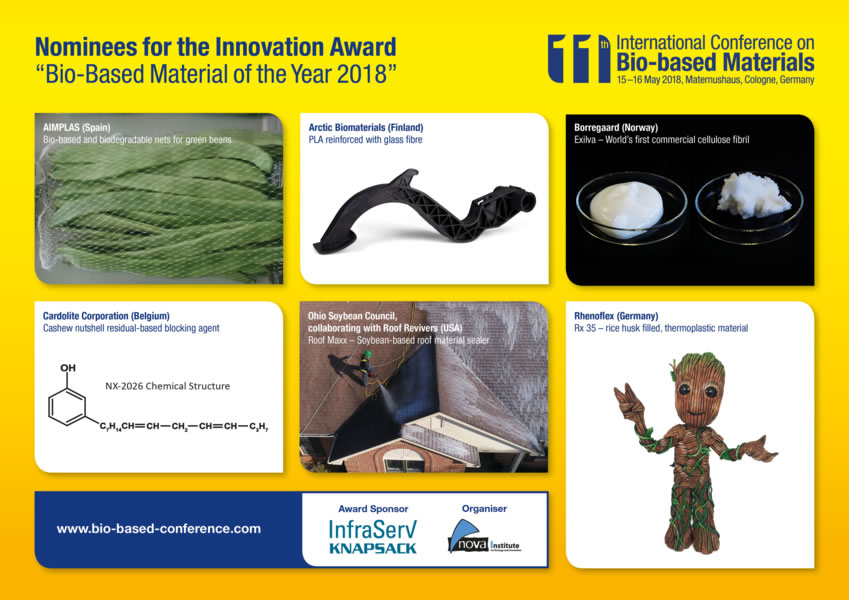 Innovation Awards Bio-Based Material