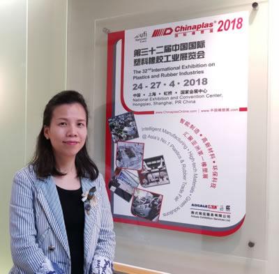 Ms. Ada Leung CHINAPLAS