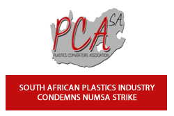 South African Plastics Industry Condemns Strike Action