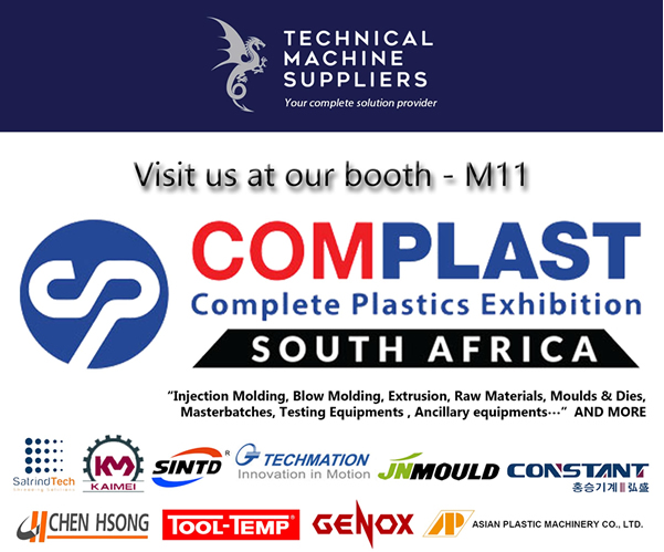 Technical Machine Suppliers exhibit at Complast