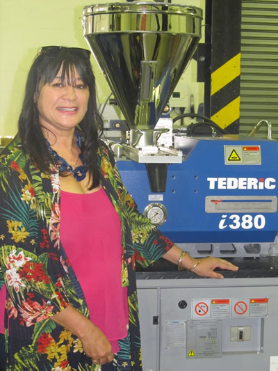 Tederic Machine donated to PlasticsSA