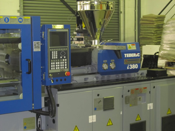 Tederic injection moulding machine donated to PlasticsSA