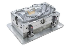 Mucell instrument panel mould takes injection molding production to a new level of automation