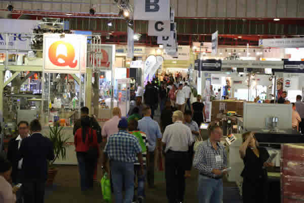 visitors at Propak Africa