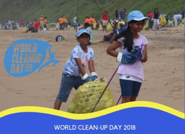 World Clean Up Day 15th September 2018