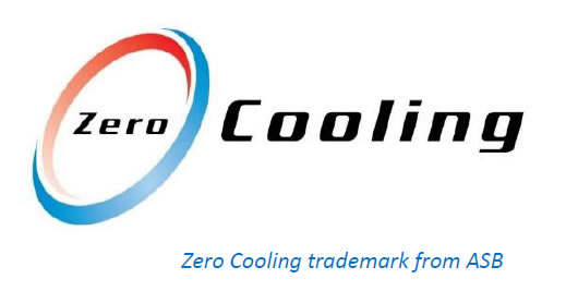 Zero Cooling trademark from ASB