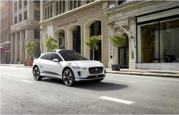 Autonomous Vehicle in San Fansisco USA