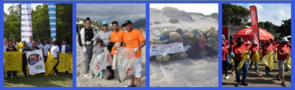 Removing litter from marine environment